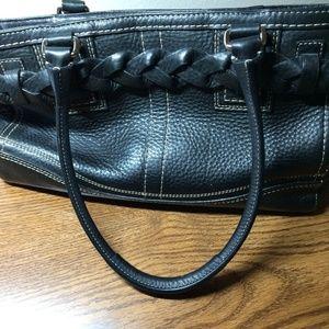 Coach Bags - Coach Pebble Leather Hamptons Carryall Satchel Bag